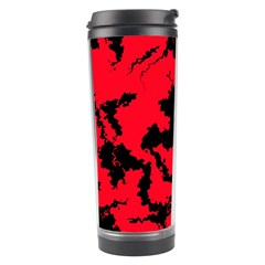 Migraine Red Travel Tumblers by MoreColorsinLife