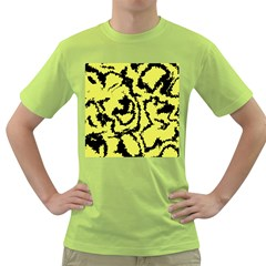Migraine Yellow Green T Shirt