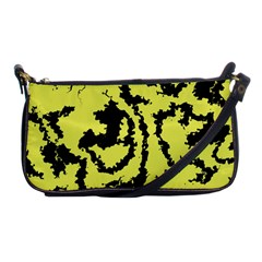 Migraine Yellow Shoulder Clutch Bags by MoreColorsinLife