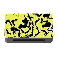 Migraine Yellow Memory Card Reader With Cf by MoreColorsinLife