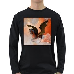 The Dark Unicorn Long Sleeve Dark T-shirts
