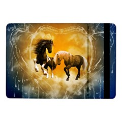 Wonderful Horses Samsung Galaxy Tab Pro 10 1  Flip Case by FantasyWorld7
