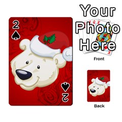 Funny Polar Bear Playing Cards 54 Designs  by FantasyWorld7