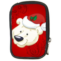 Funny Polar Bear Compact Camera Cases by FantasyWorld7