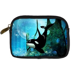 Orca Swimming In A Fantasy World Digital Camera Cases by FantasyWorld7