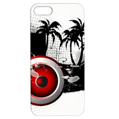 Music, Speaker Apple Iphone 5 Hardshell Case With Stand by EnjoymentArt