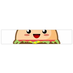 Kawaii Burger Flano Scarf (small)