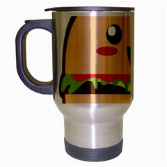 Kawaii Burger Travel Mug (silver Gray) by KawaiiKawaii