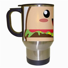 Kawaii Burger Travel Mugs (white) by KawaiiKawaii