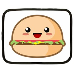 Kawaii Burger Netbook Case (xxl)  by KawaiiKawaii