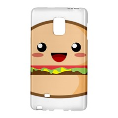 Kawaii Burger Galaxy Note Edge