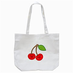 Kawaii Cherry Tote Bag (white)