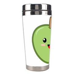 Kawaii Green Apple Stainless Steel Travel Tumblers by KawaiiKawaii
