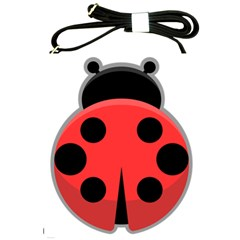 Kawaii Ladybug Shoulder Sling Bags by KawaiiKawaii