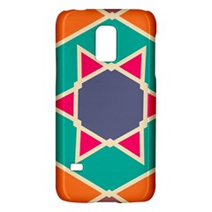 Red Retro Starsamsung Galaxy S5 Mini Hardshell Case by LalyLauraFLM