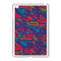 Chaos In Retro Colors Apple Ipad Mini Case (white) by LalyLauraFLM