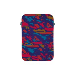 Chaos In Retro Colors Apple Ipad Mini Protective Soft Case by LalyLauraFLM