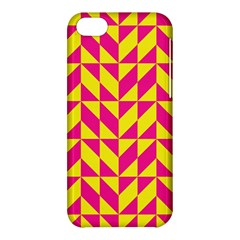 Pink And Yellow Shapes Pattern Apple Iphone 5c Hardshell Case by LalyLauraFLM
