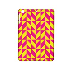 Pink And Yellow Shapes Pattern Apple Ipad Mini 2 Hardshell Case by LalyLauraFLM