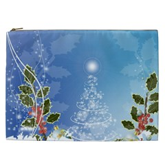 Christmas Tree Cosmetic Bag (xxl)  by FantasyWorld7