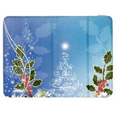 Christmas Tree Samsung Galaxy Tab 7  P1000 Flip Case