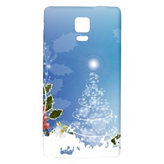 Christmas Tree Galaxy Note 4 Back Case by FantasyWorld7