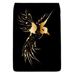 Beautiful Bird In Gold And Black Flap Covers (s)