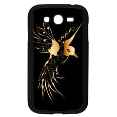 Beautiful Bird In Gold And Black Samsung Galaxy Grand Duos I9082 Case (black)