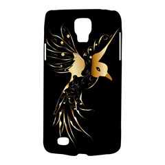 Beautiful Bird In Gold And Black Galaxy S4 Active