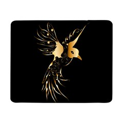 Beautiful Bird In Gold And Black Samsung Galaxy Tab Pro 8 4  Flip Case