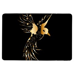 Beautiful Bird In Gold And Black Ipad Air Flip