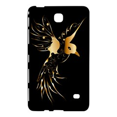 Beautiful Bird In Gold And Black Samsung Galaxy Tab 4 (7 ) Hardshell Case