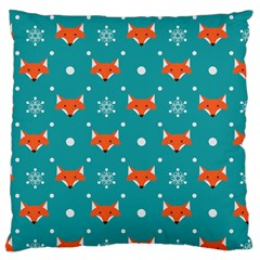 Cushion Case Fox Pattern Large by hxdespay