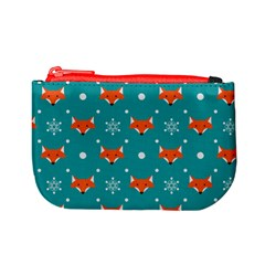 Fox Pattern Coin Change Purse by hxdespay