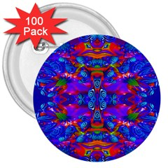 Abstract 4 3  Buttons (100 Pack)  by icarusismartdesigns