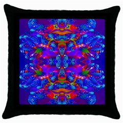 Abstract 4 Throw Pillow Cases (black) by icarusismartdesigns
