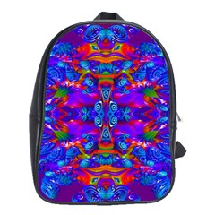 Abstract 4 School Bags(large)  by icarusismartdesigns