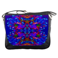 Abstract 4 Messenger Bags by icarusismartdesigns