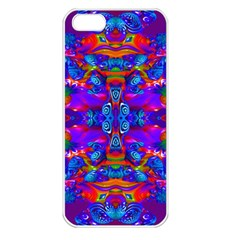 Abstract 4 Apple Iphone 5 Seamless Case (white) by icarusismartdesigns