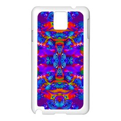 Abstract 4 Samsung Galaxy Note 3 N9005 Case (white) by icarusismartdesigns