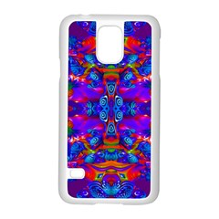 Abstract 4 Samsung Galaxy S5 Case (white) by icarusismartdesigns