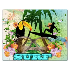 Surfing Rectangular Jigsaw Puzzl by FantasyWorld7