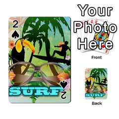 Surfing Playing Cards 54 Designs  by FantasyWorld7