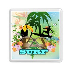 Surfing Memory Card Reader (square)  by FantasyWorld7