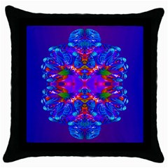 Abstract 5 Throw Pillow Cases (black) by icarusismartdesigns