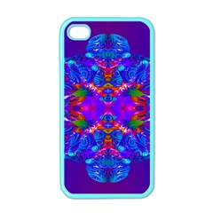 Abstract 5 Apple Iphone 4 Case (color) by icarusismartdesigns