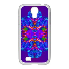 Abstract 5 Samsung Galaxy S4 I9500/ I9505 Case (white) by icarusismartdesigns