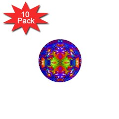 Abstract 6 1  Mini Magnet (10 Pack)  by icarusismartdesigns