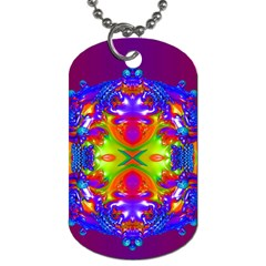 Abstract 6 Dog Tag (one Side) by icarusismartdesigns