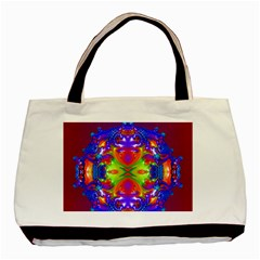 Abstract 6 Basic Tote Bag  by icarusismartdesigns